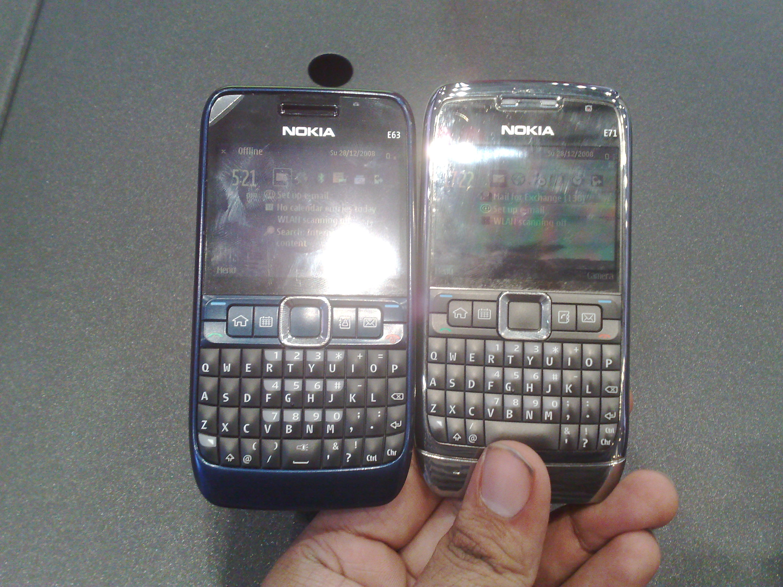 Nokia E63 vs E71 in Pictures nokia e63 vs e71 – Fone Arena - The ...
