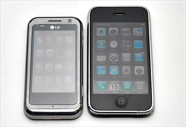 Lg Km900 Arena Vs Iphone 3g Fone Arena