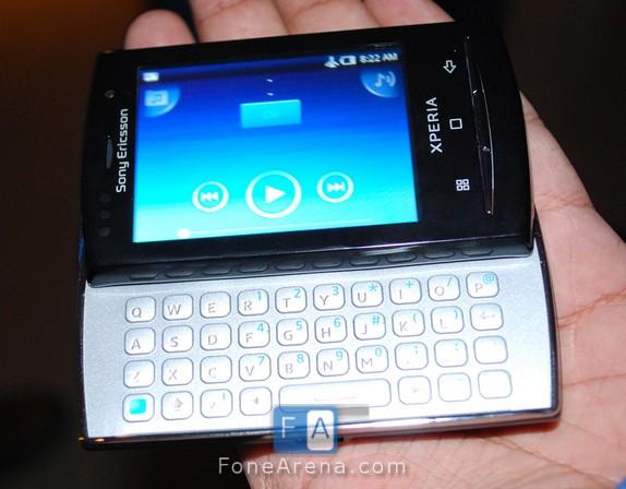 sony ericsson xperia x10 pro mini. Sony Ericsson has just