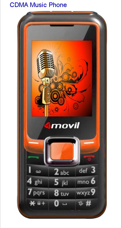 Movil introduces CDMA Music Phone.