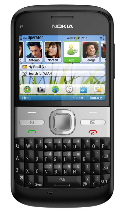 Nokia India Launches E5 At Rs 10634