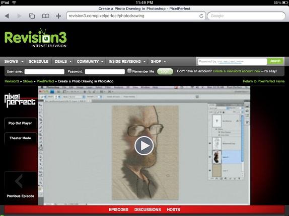 html5 ipad video