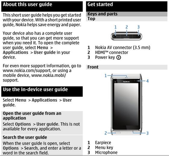 телефон nokia 8 инструкция