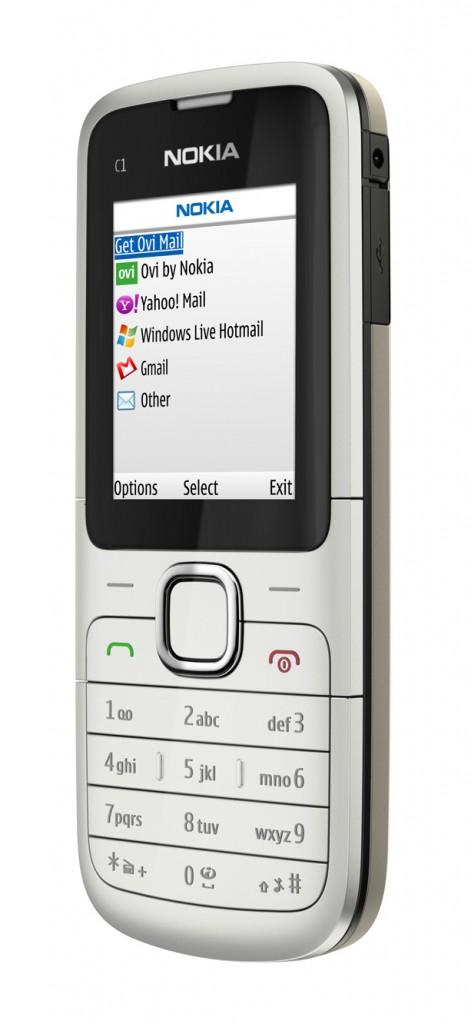 Nokia C1-01 Announced
