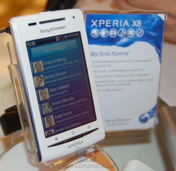 sony ericsson x8 mini pro. The Sony Ericsson Official