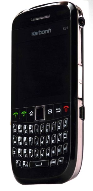 Karbonn K25 Dual Sim Qwerty At A Price Of Rs 4400