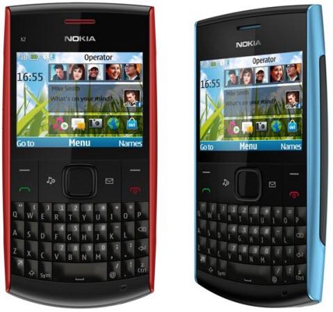 Nokia Announces X2-01 QWERTY