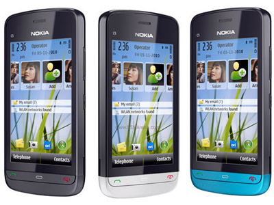 Nokia C5-03 is Nokia's latest addition to its S^1 line up of devices,
