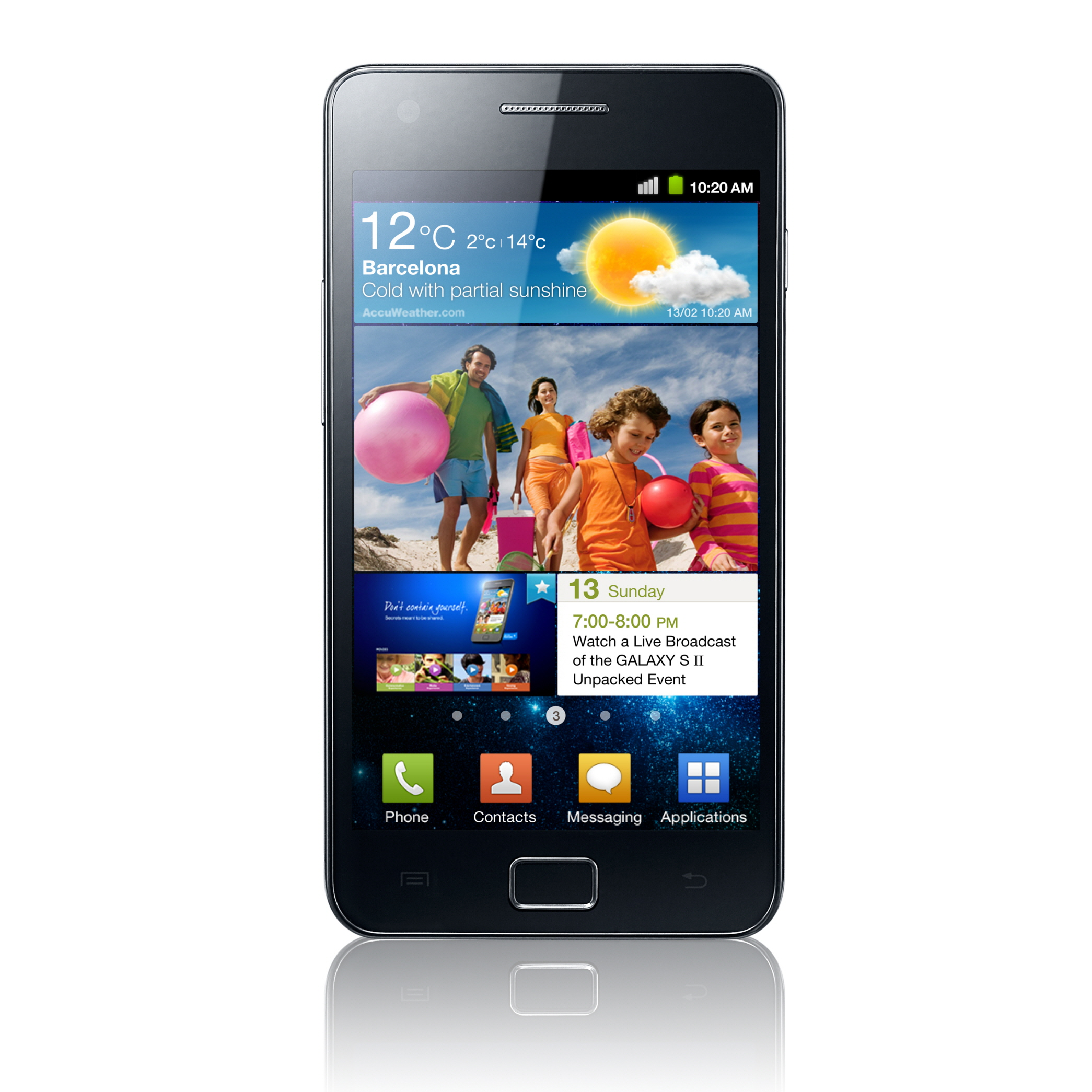We just showed you that the Samsung Galaxy S2 is available for pre ...