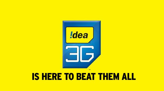 Now Idea too re... Idea 3g Logo