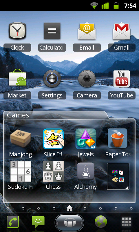 Spb Shell 3d Android Folders Fone Arena