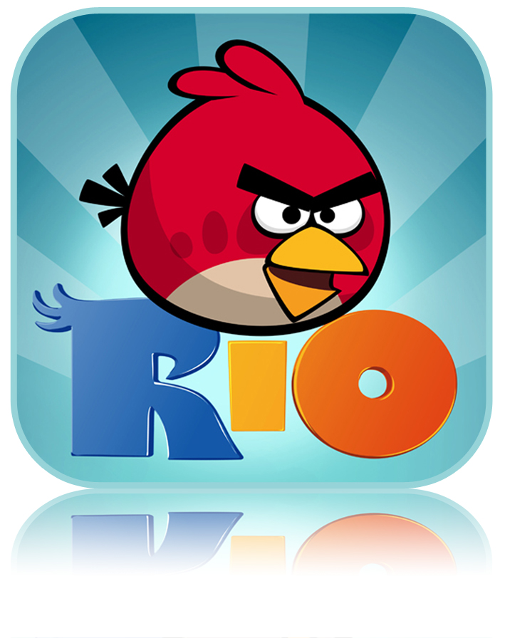 Angry Birds games have now been downloaded over 100 million times and