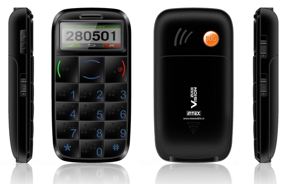 Intex Vision Phone For Visually Impaired