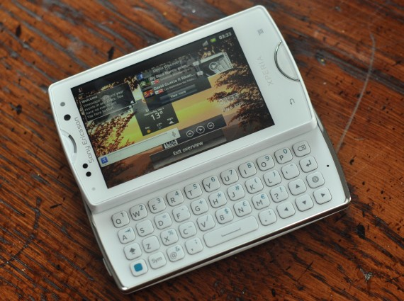 sony ericsson xperia mini 1