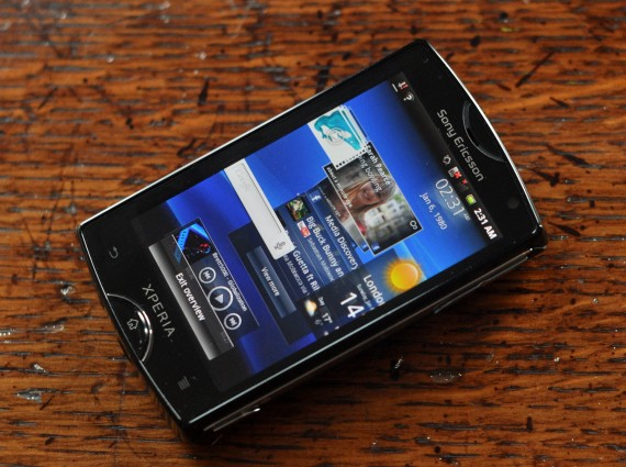 sony ericsson xperia mini 2