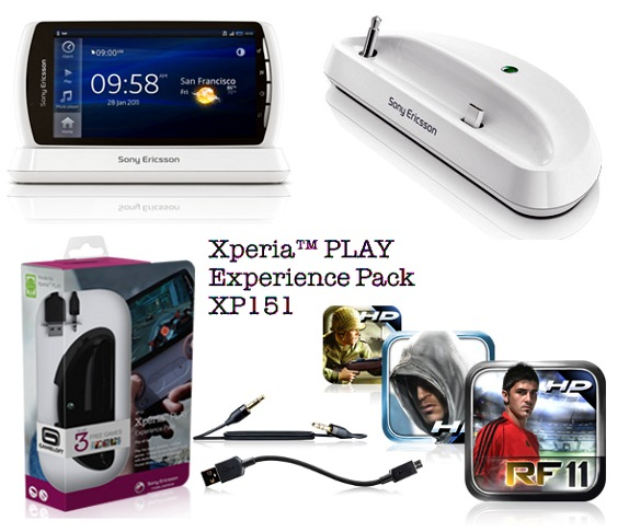 Sony Ericsson launches Xperia Play Experience Pack