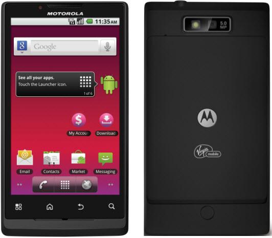 Motorola Cell Phones The New Roi, Bringing HD to Smartphones