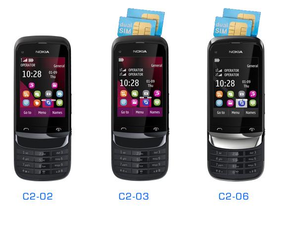 nokia has announced three new series 40 devices nokia c2 02 nokia c2 ...