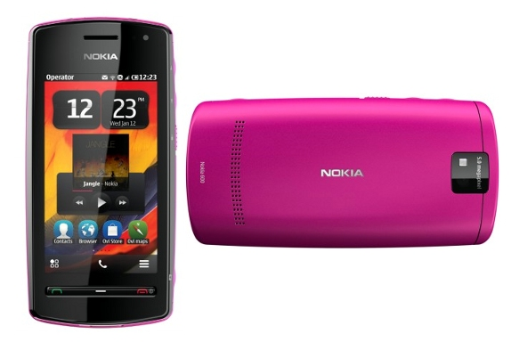 harga Nokia 600 baru bekas, fitur spesifikasi ponsel handphone Nokia 600 Symbian belle terbaru, kelemahan kekurangan dan kelebihan desain gambar Nokia 600, hp 3G/HSDPA WiFi NFC