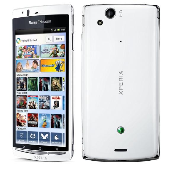 Features ofu00a0Sony Ericsson Xperia arc S