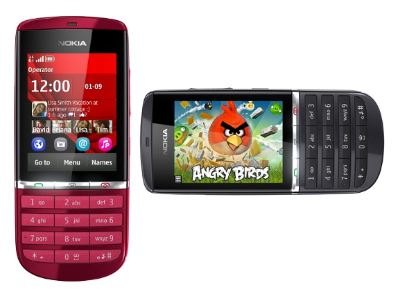 nokia has launched nokia asha 300 touch and type phone in india it was