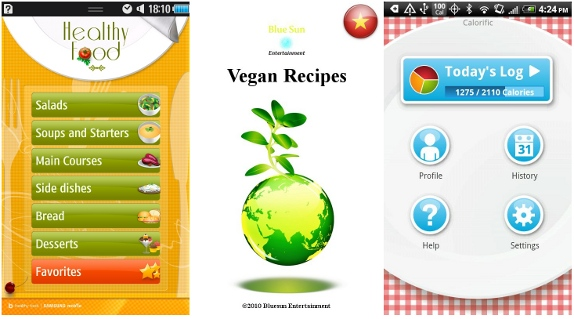 Food apps for bada and android phones latest updated - Application android cuisine ...