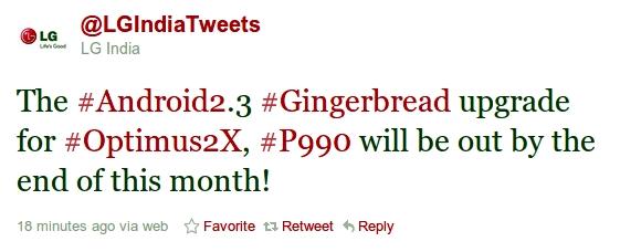 LG Optimus 2X Gingerbread – Fone Arena