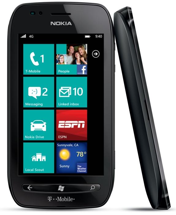 Nokia re-enters USA with Lumia 710 for T-Mobile