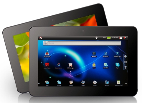viewsonic vpad 10s android tablet now available in india