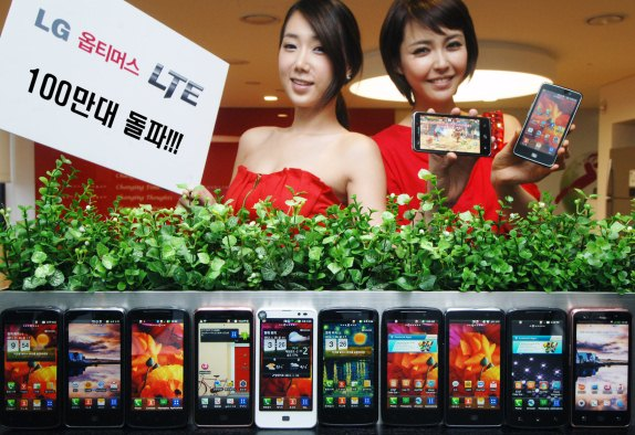 LG Optimus LTE shipments exceed 1 million globally