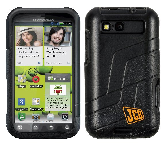Motorola Has Launched The Jcb Edition Of Defy Rugged Android Phone They Announced Last August And September