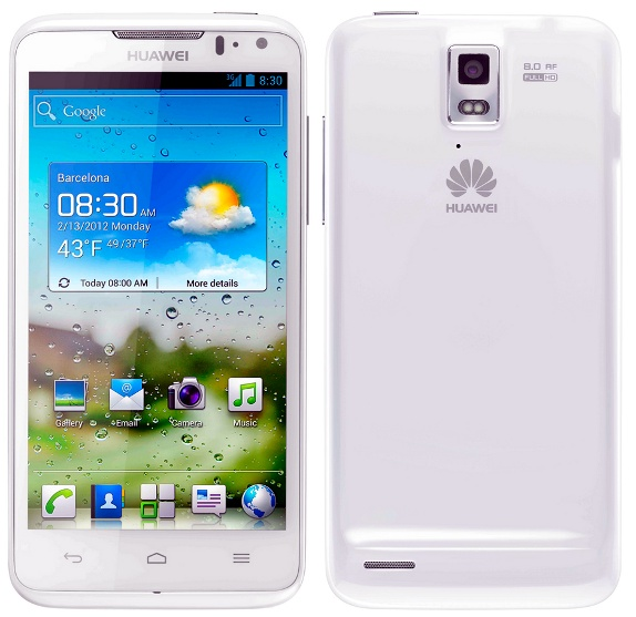 Huawei Ascend D Quad Review features