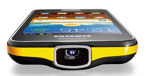 Samsung galaxy beam projector phone with 1 ghz dual core for Miroir 50in projector specs