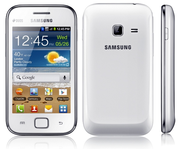 Samsung Galaxy Ace Duos (GSM + GSM) now available in India for Rs