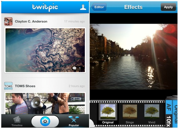 Twitpic launches iPhone app