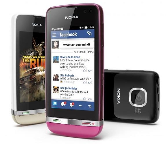 Nokia Asha 311 Touch Screen phone announced