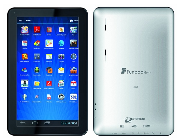 Front camera failed to work on Micromax Android tablet ...