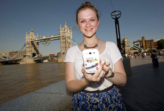 Samsung introduces Galaxy S3 London Olympics special edition flip