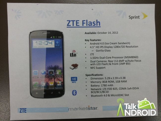 ZTE-Flash-Sprint-Leak