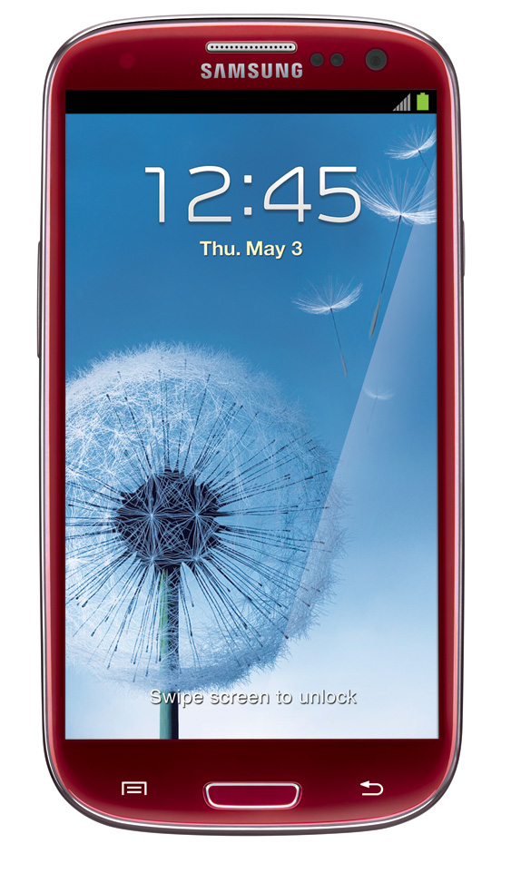 Garnet Red Samsung Galaxy S III exclusively coming to AT&T ...