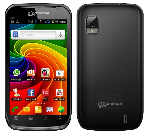 Micromax A84 Superfone Elite launched for Rs. 9,999  Micromax A84 Su...