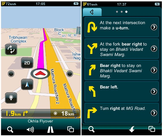 Mapmyindia Launches Dont Panic Gps Navigation App For Iphone And Ipad In India