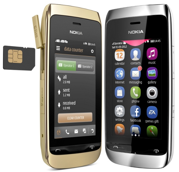 Nokia Asha 308 Dual SIM and Asha 309 affordable Touch Screen phones