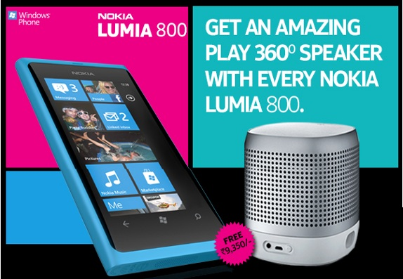 nokia has announced a new offer in india now you get a free nokia play
