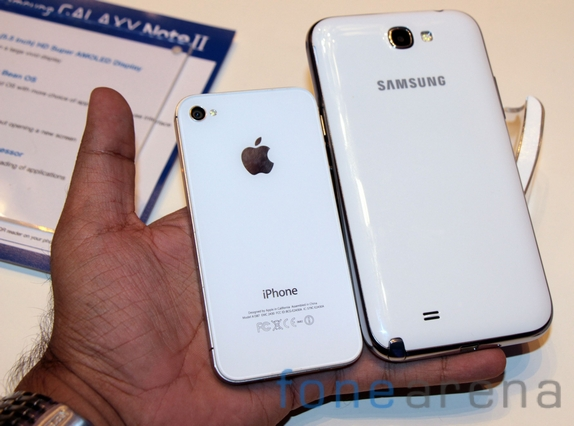 Samsung Galaxy Note 2 vs iPhone 4S Photo Gallery