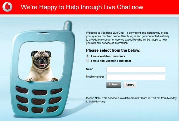 Iq option live chat vodafone