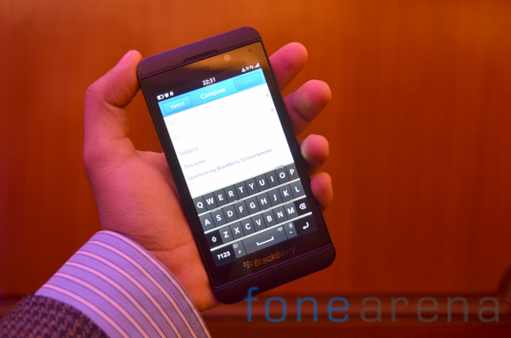 blackberry z10 india launch