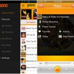 Gaana for Android and iPhone