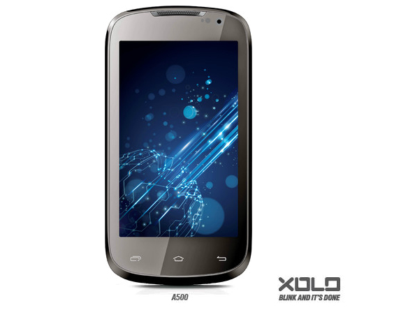 Lava Xolo A500 with 4-inch display, 1GHz dual-core processor ...