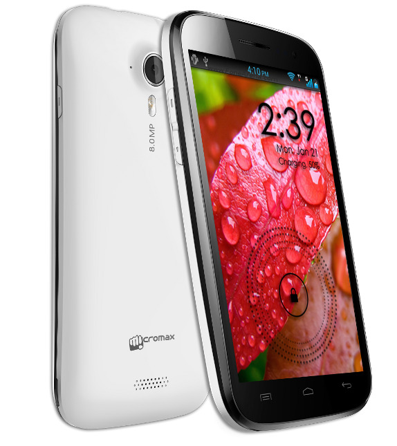 Micromax A116 Canvas HD With 5-inch HD Display, 1.2 GHz